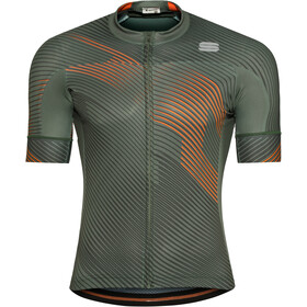 Sportful Bodyfit Team 2.0 Faster Jersey Men dry green/orange sdr